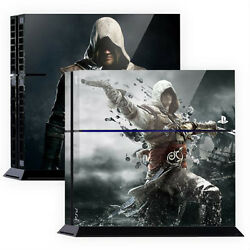 Skin Sticker Cover For PS4 Tuning Mapping Elaborated POP SKIN Assassins #01