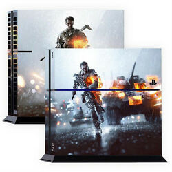 Skin Sticker Cover For PS4 Tuning Mapping Elaborated POP SKIN Battlefield #02
