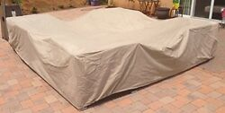 Garden Furniture Covers All Weather Outdoor Patio Sectional 10' 6 X 10' 6 Set