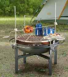 Cowboy Grill Best Charcoal Grills Bbq With Rotisserie And Spit Fire Pit Outdoor