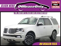 2015 Lincoln Navigator EcoBoost RWD Off Lease Only White Platinum Metallic Tri-Coat 2015 LincolnNavigatorEcoBoost RW
