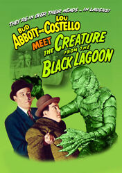 Abbott and Costello Meet the Creature From the Black Lagoon [New DVD] $8.27