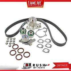 DNJ TBK630WP Timing Belt Kit Water Pump For 90-96 Nissan 300ZX 3.0L V6 DOHC 24v