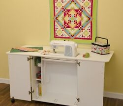 Kangaroo Emu Center Island Sewing Cabinet to fit JANOME 7700QCP