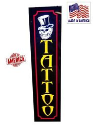 TATTOO SignLed light box signs  12''x48