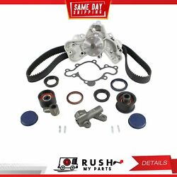 DNJ TBK470WP Timing Belt Kit Water Pump For 88-95 Mazda 929 MPV 3.0L SOHC 18v