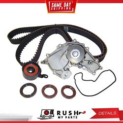 DNJ TBK270WP Timing Belt Kit Water Pump For 86-91 Sterling 825 2.5L SOHC 24v
