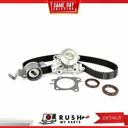 DNJ TBK157WP Timing Belt Kit Water Pump For 97-02 Mitsubishi Mirage 1.8L L4 SOHC