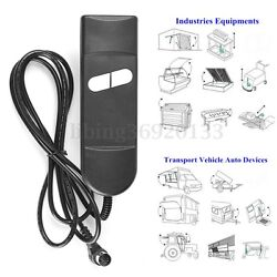 Electric Recliner Switch Remote Control 2 Button Power Lift Chair Hand Wand US