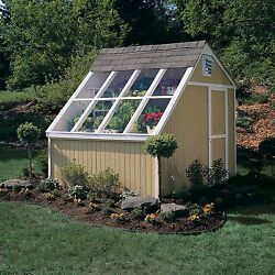 Solariums Greenhouses For Sale Tool Storage Flower Potting Shed Solar Gardening