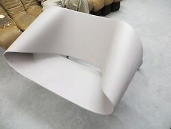 HEAVY plastic chair chrome germany art deco NYC BERGER may deliver WARHOL