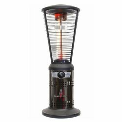 Stainless Steel Tabletop Liquid Propane Patio Heater Black Outdoor Home Porches