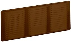 Soffit Vent Heavy Duty Brown Finish Mesh Aluminum Screen 16 X 8 Inches 1 Piece