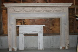 Spectacular Massive Fireplace Mantel Mantle from NY Mansion Palace