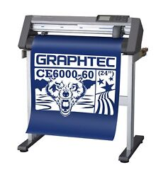 Graphtec CE6000-60 PLUS - 24 Inch Professional Vinyl Cutter & Plotter
