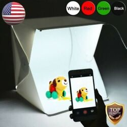 Light Room Photo Photography Lighting Tent Kit Cube Mini Box With 4Pcs Backdrops $10.95