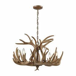 Loon Peak Denville 6-Light Outdoor Chandelier