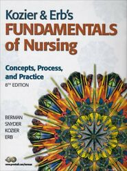 Fundamentals of Nursing: Concepts Process and Practice: Textbook and Study Gui $19.93