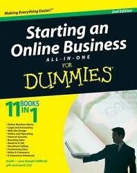 Starting an Online Business All in One Desk Reference For Dummies by Shannon Bel $4.49