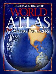 National Geographic World Atlas for Young Explorer $4.49
