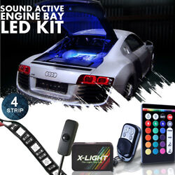 X LIGHT LED Engine Bay Multicolor Strip Light Kit with with wireless remotes $54.99