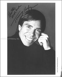 TOMMY HILFIGER - INSCRIBED PHOTOGRAPH SIGNED