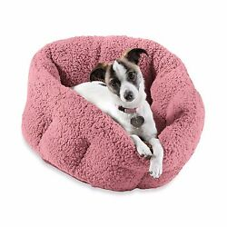 Orthopedic Indoor Outdoor House Pet Dog Cat Plush Warm Cozy Sherpa Comfort Bed