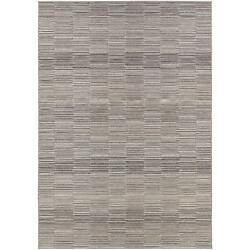 Power-Loomed Couristan Cape FaystonSilver-Charcoal IndoorOutdoor Rug (7'10 x