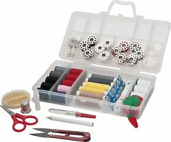 Sunbeam SEWING KIT Over 120 Sewing Supplies Mini Travel sewing kit for Beginner