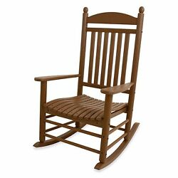 Teak Outdoor Garden Yard Veranda Porch Patio Pool Jefferson Slatted Rocker Chair