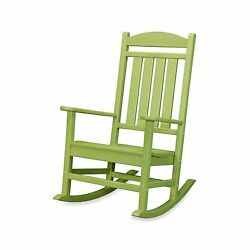Green Outdoor Home Garden Porch Patio Deck Veranda Pool Rocking Rocker Chair