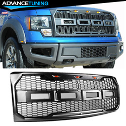 For 09-14 Ford F150 New Raptor Style Front Bumper Grille Hood Mesh Package ABS $119.99