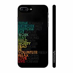Mantras for life Mobile Cell Phone Hard Back Case For Apple Iphone 7 Plus 5215