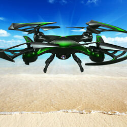 BloodRazor CW6 RC Hexacopter Quadcopter 2.4G 6 Axis Gyro 3D Drone with HD Camera $109.99