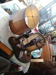 70s Nightwatch NY Custom Lamp Bill of Rigths with Blind Justice super rare $400.00