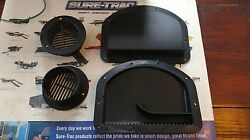 TRAILER SIDE WALL AIR VENTS - BLACK 2 inner 2 outer FREE FAST SHIPPING flow  $17.95
