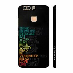 Mantras for life Mobile Cell Phone Hard Back Cover Case For Huawei P9 Plus