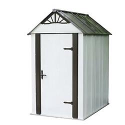 Arrow Designer Hot Dipped Galvanized Steel Shed (4' x 6')