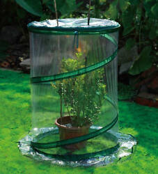 DIY Mini-Greenhouse Kit Earthcare Top It 3 Single Plant Portable Greenhouse