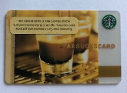 Starbucks Card 2006 Coffee as Art w pin intact Old Logo $4.99