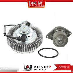DNJ FCA1006E WP1165 Fan clutch assem. Water Pump Kit For 03-04 Dodge 5.9L OHV