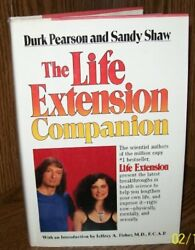 The Life Extension Companion by Durk Pearson Sandy Shaw $4.49