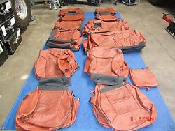 HUMMER H2 SUV  FACTORY OEM SEAT COVERS FITS 2008-2009 SUV ONLY