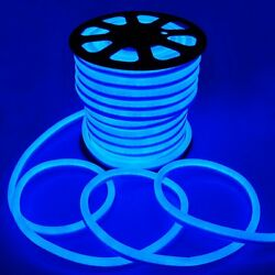 5X 150' Commercial LED Neon Rope Light Flex Tube Sign Party Bar Decoration Blue