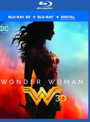 Wonder Woman New Blu ray 3D With Blu Ray 2 Pack $18.59