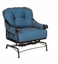 Woodard Derby Spring Lounge Chair With Cushions