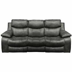 3 pc Santa Barbara Leather Reclining Sectional Sofa Loveseat and Wedge Set NEW