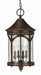 Hinkley Lighting Lucerne 4-Light Outdoor Hanging Lantern