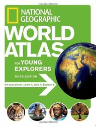National Geographic World Atlas for Young Explorer $5.25
