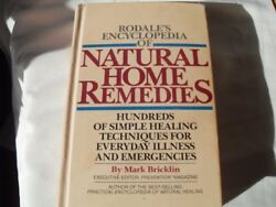 Rodales Encyclopedia of Natural Home Remedies: Hu $4.49
